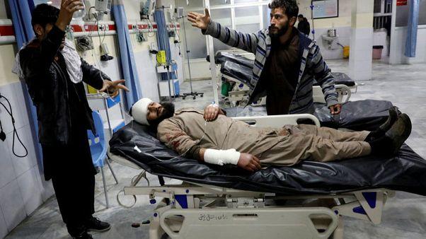 مقتل 4 وإصابة 90 في انفجار قرب مجمع شديد الحراسة في كابول
