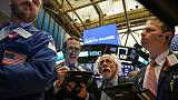 الأسهم الأمريكية تهبط بعد بيانات صينية ونتائج سيتي
