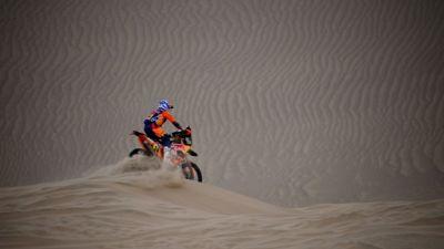Dakar-Moto: l'étape pour Sunderland, le général pour Brabec