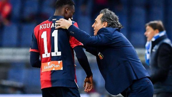 Genoa: 1-1 con tedeschi di Terza Serie