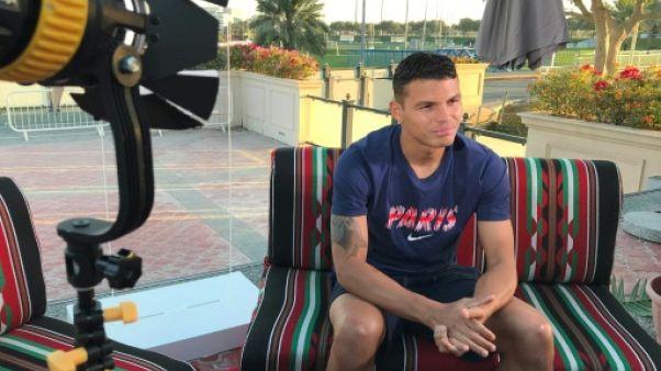"""Thiago Silva à l'AFP : dans """"la meilleure"""" forme de sa carrière"""