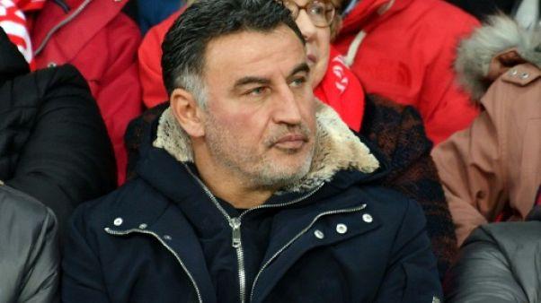 Lille: l'entraîneur Christophe Galtier prolonge jusqu'en 2021