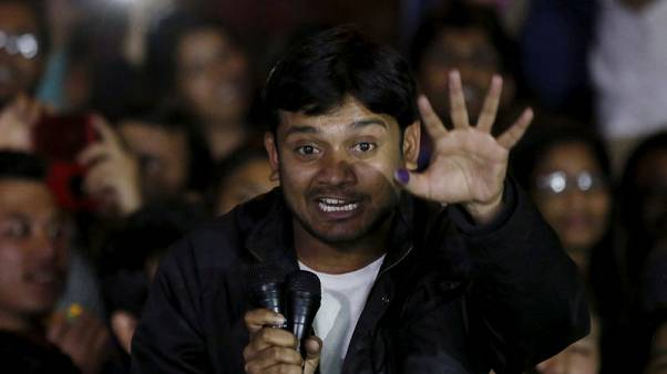 Indian police charge student leader, nine others, in sedition case