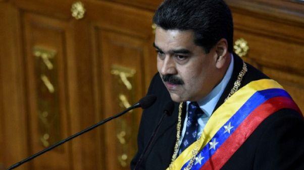 """Venezuela: Maduro qualifie de """"show"""" l'arrestation du président du Parlement"""