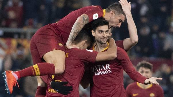 Coppa Italia: 4-0 a Entella, Roma ai 4/i