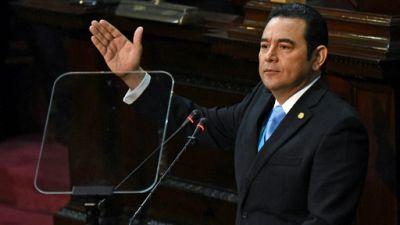 Guatemala: face aux manifestations, le président en appelle à l'unité nationale