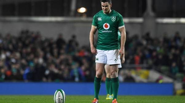 Ireland flyhalf Sexton wins Rugby Union Writers' Club award