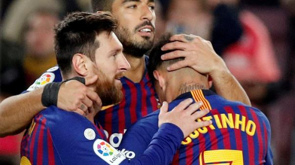 Barcelona first team to spend half-a-billion euros on wages - study
