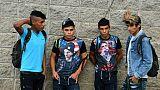 Une nouvelle caravane de migrants se forme au Honduras