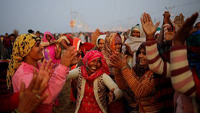 Indian city gears up for world's largest religious festival