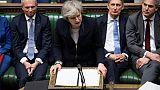 GB: le Parlement inflige une défaite historique à May en rejetant l'accord de Brexit