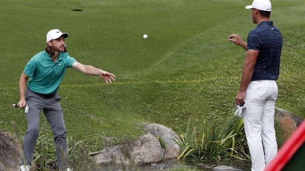 Golf, a Abu Dhabi show con Koepka