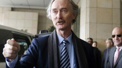 Syrie: le nouvel émissaire de l'ONU arrive à Damas pour sa première visite