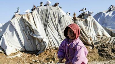 Conflit en Syrie: 15 enfants déplacés sont morts en raison du froid hivernal