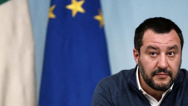 Salvini, lavoro a riforma giustizia