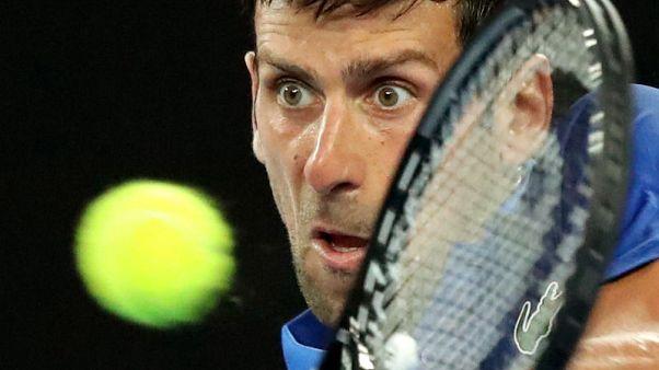 ديوكوفيتش يلقن كروجر درسا في التنس ويبلغ الدور الثاني في استراليا