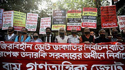 "Transparency International finds ""irregularities"" in Bangladesh vote"