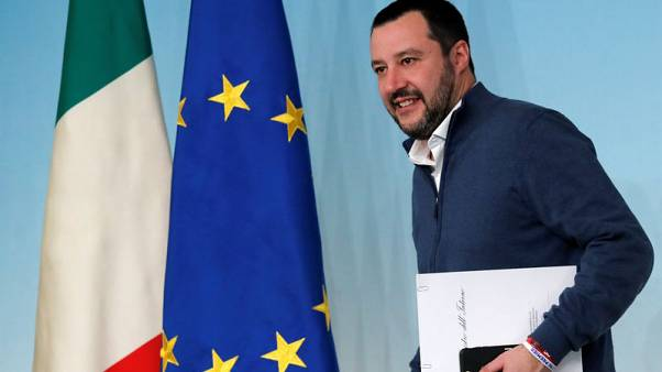 Italy's Salvini accuses ECB of damaging local banks