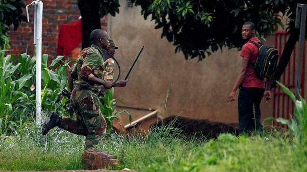 Soldiers patrol Zimbabwe streets after deadly protests over economy