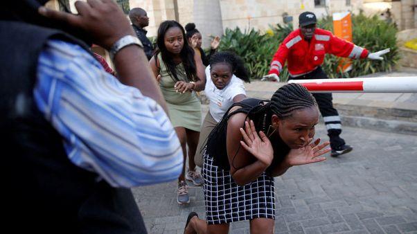 Gunmen storm Kenyan hotel compound, Somali Islamists claim lethal attack