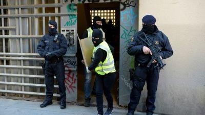 Opération antiterroriste à Barcelone contre une cellule soupçonnée de vouloir commettre un attentat
