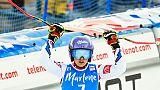 Ski: encore un podium pour Worley, Shiffrin va trop vite à Kronplatz