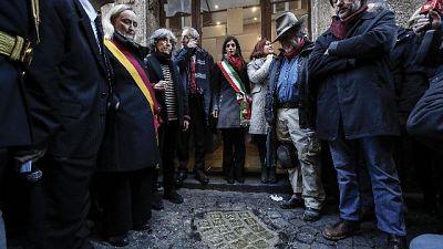 Shoah: Roma,ricollocate pietre inciampo