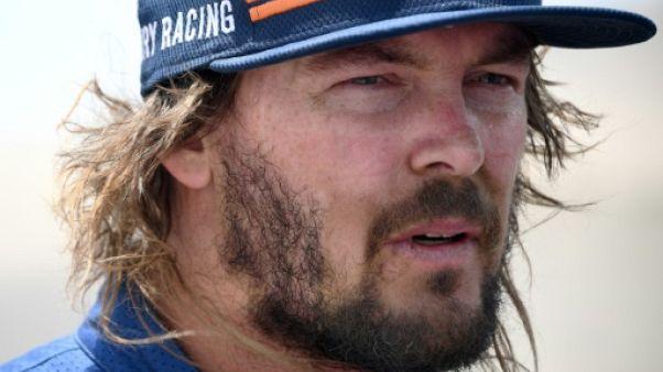 Dakar-Motos: Price devant après la 8e étape, Walkner vainqueur