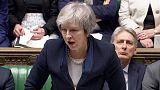 """في لحظة """"تاريخية"""".. رئيسة وزراء بريطانيا تحث البرلمان على إقرار اتفاق الخروج"""