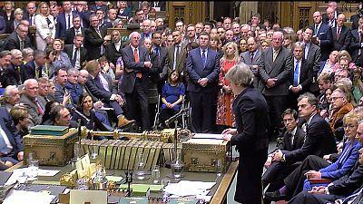 البرلمان البريطاني يرفض بأغلبية ساحقة اتفاق ماي للخروج من الاتحاد الأوروبي