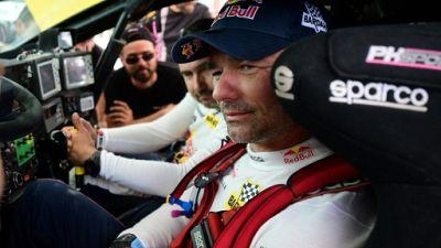 Sébastien Loeb vainqueur de la 8e étape du Dakar le 15 janvier 2019