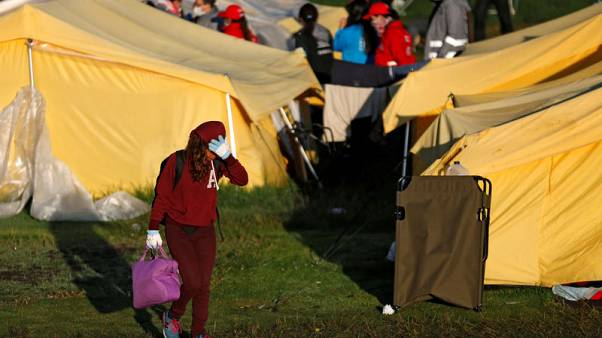 Colombia clears migrant camp as Venezuela exodus continues