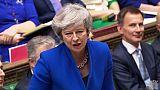 Brexit: après l'échec de la motion de censure, Theresa May se remet au travail