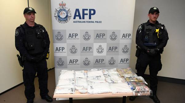 Airline cabin crew member arrested in Australian drug bust