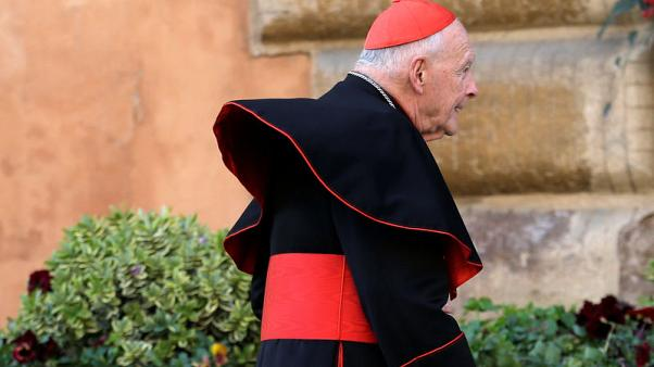 Disgraced U.S. ex-cardinal could be defrocked soon - Vatican sources