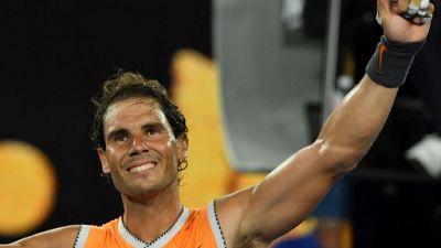 Open d'Australie: Nadal poursuit tranquillement son retour