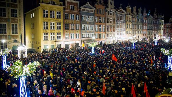 Polish police detain suspects for hate speech after Gdansk mayor death