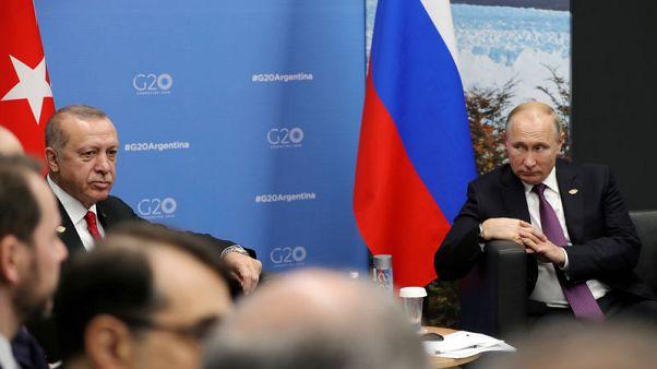 Putin, Turkey's Erdogan to discuss U.S. pullout from Syria next week