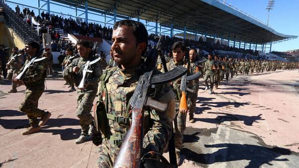 U.S.-backed SDF - will help create north Syria safe zone
