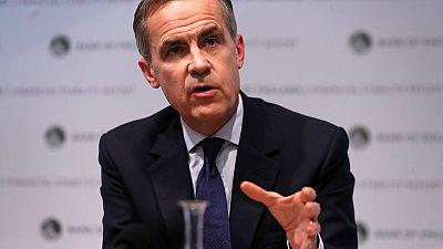 Leveraged loans echo pre-crisis subprime crash - BoE's Carney