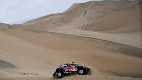 Dakar-2019: abandon de Stéphane Peterhansel