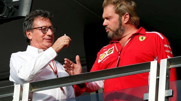 Ferrari chairman reiterates support for CEO Camilleri