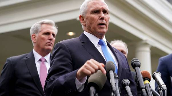 Pence says Islamic State defeated as U.S. troops killed in Syria