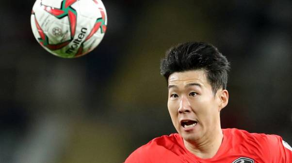 Spurs' Son helps South Korea to victory over China