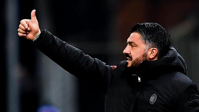 Milan: Gattuso, addio Higuain? Non lo so