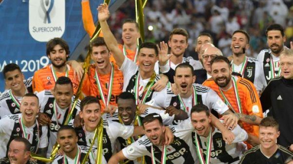 Supercoupe d'Italie: premier trophée pour Ronaldo le Turinois