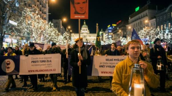 Les Tchèques ont rendu hommage à l'étudiant martyr Jan Palach
