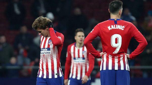 جيرونا يطيح باتليتيكو من كأس ملك اسبانيا عقب مباراة مثيرة