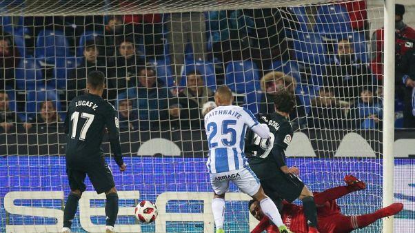 Lacklustre Madrid reach Copa quarter-finals despite loss to Leganes