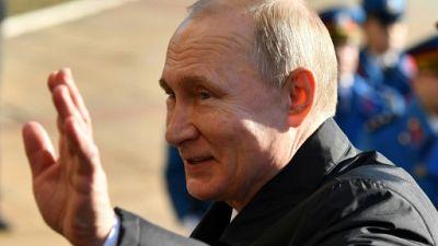 Le président russe Vladimir Poutine le 17 janvier 2019 à Belgrade